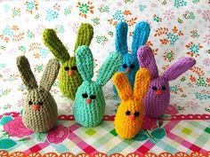 Tecrin tries: Pattern: Easter Egg Bunnies
