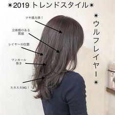 Pin on ヘアスタイル Medium Straight Haircut, Medium Hair Cuts, Medium Hair Styles, Makeup Tips, Hair Makeup, Asian Haircut, Hair Arrange, Hair Images, Hair Designs