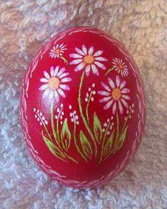 Flower on egg