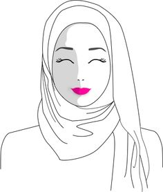 The Definitive Hijab Style Guide – Haute Hijab Muslim Fashion, Modest Fashion, Hijab Fashion, Hijab Style Dress, Hijab Chic, Fashion Illustration Sketches, Fashion Design Sketches, Modest Dresses, Modest Outfits