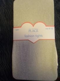 Girls size 8-10 The Children's Place fashion glitter tights $7.50 SHIPPED