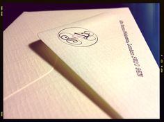RSVP Envelope  #wedding #invitation