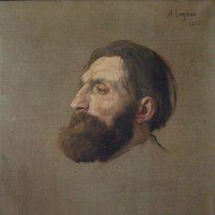 Rodin by Alphonse Legros