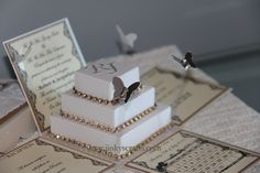 Lace Wedding Invitations – Exploding Box Invitations