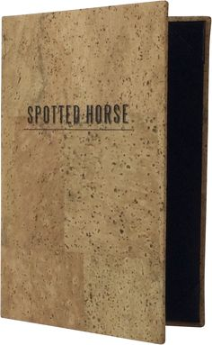Spotted Horse - 384538 - Create an attractive arrangement of your menu items with menu covers from Menu Designs. We have a large selection of menu covers made from the finest materials. Whether you're a café interested in menu boards or a five star dining establishment who's looking for leather menu covers, we're sure you'll find the perfect menu covers for your restaurant.
