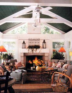 Sunroom Porch/Family Room www.benvenutiandstein.com