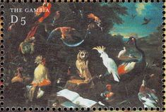Red-and-green Macaw stamps - mainly images - gallery format