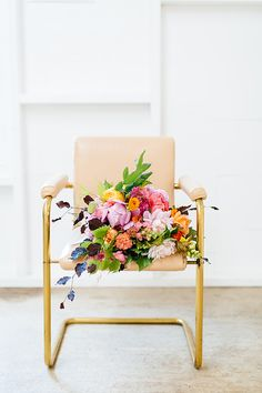 Flower-Filled Wedding Inspiration That's Pretty in Pink #weddingideas #weddingdecor