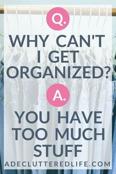 Click through to learn what you must do to finally organize your home with this easy-to-stick-to decluttering method that even the most overwhelmed mom can manage. Cleaning Checklist, Cleaning Hacks, Overwhelmed Mom, Declutter Your Life, Organizing Your Home, Organizing Tips, Decluttering Ideas, Organising, Home Management