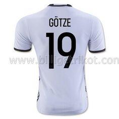Deutschland GOTZE Heim trikot 2016 €22,90!!Günstige Fußball Trikots