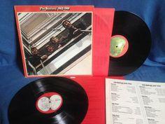 Vintage The Beatles  RED 1962-1966 Vinyl 2 LP by sweetleafvinyl