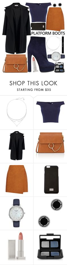 """Untitled #125"" by kovare ❤ liked on Polyvore featuring Swarovski, Coast, Jil Sander, Chloé, MSGM, Dolce&Gabbana, Kate Spade, Marc Jacobs, Lipstick Queen and NARS Cosmetics"