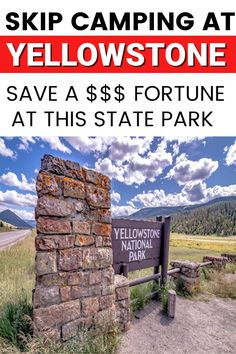 CAMPING NEAR W. YELLOWSTONE: Trying to find a camping spot near and around West Yellowstone can be hard to do! Lucky for you, we have the perfect spot for you, this RV campground is ONLY 20 minutes outside the West Yellowstone entrance, is super affordable and the views are stunning, AND it's family friendly. #yellowstone #rvcamping #campingtips #np #idaho Yellowstone Camping, West Yellowstone, Yellowstone National Park, National Parks, Camping Spots, Rv Camping, Campsite, Camping Hacks, Rv Campgrounds