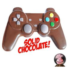 Chocolate Video Game Controller, Gamer Gifts, Video Game Gift, Chocolate Controller, Candy Co. Chocolate Video Game Co Christmas Gifts For Boys, Gifts For Teen Boys, Easter Gifts For Kids, Birthday Gifts For Boys, Gifts For Teens, Boy Birthday, Easter Ideas, Birthday Presents, Birthday Nails