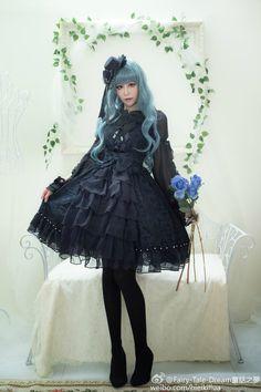 Dream Rushes Pretty Outfits, Cute Outfits, Tea Party Outfits, Estilo Lolita, Cute Little Girl Dresses, Gothic Lolita Fashion, Quirky Fashion, Japanese Street Fashion, Harajuku Fashion