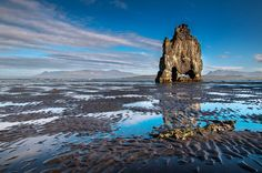 Hvitserkur in the Vatnsnes peninsula, Iceland #Iceland #ExtremeICeland