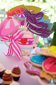 Mad Hatter Tea Party- it was my wedding theme, but I'll probably still do it again :) the party, not the wedding