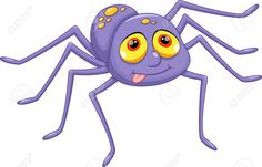 Image result for cute spider cartoon tattoo