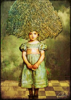 BAD HAIR DAY: Art by Dale created with PASTEL DELIGHT by itKuPiLLi Imagenarium at Deviant Scrap