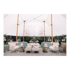 Sailcloth tents make everything look better!