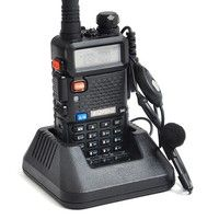 BaoFeng UV-5R Dual Band VHF 136-174MHz / UHF 400-480MHz 5W 128CH Walkie Talkie Two Way Radio with 1800mAH Battery