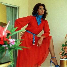 Sophia Loren in Firepower in 1979