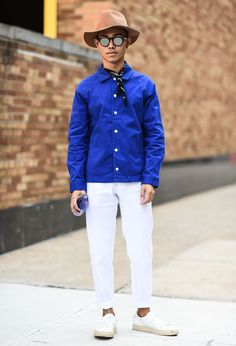 What All the Cool Kids Are Wearing to Men's Fashion Week