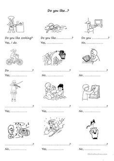 Grammar: Present simple tense; English Vocabulary Words, English Words, English Lessons, Learn English, English Primary School, Learning English For Kids, Teaching English, English Worksheets For Kids, 2nd Grade Worksheets