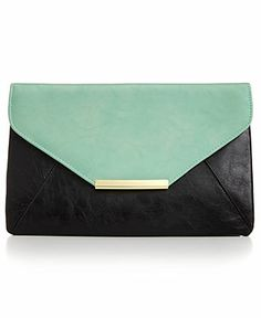 Stlye&co. Lily Envelope Colorblock Clutch - Clutches & Evening Bags - Handbags & Accessories - Macy's