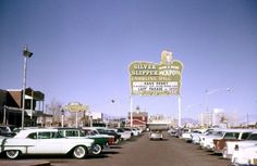 1951 - Silver Slipper Casino opens at 3100 Las Vegas Blvd. South, on the Las Vegas Strip. Las Vegas Blvd, Vegas Casino, Las Vegas Strip, Las Vegas Nevada, Atlantic City Casino, Cities, I Love La, Sin City, Old Pictures