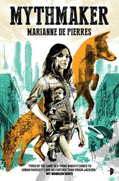 Today I am interviewing Marianne de Pierres , author of the new urban fantasy/SF Western novel, Mythmaker. ◊  ◊  ◊ DJ: Hey Marianne! Thanks for stopping by to do this interview! Could you start thi...