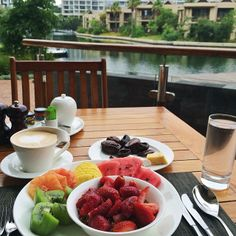 Fruits breakfast!!