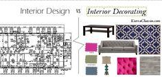 Interior Design VS Interior Decorating – K. What Is Interior Design, Budget Blinds, Apartment Complexes, Colorful Furniture, Design Consultant, Home Improvement Projects, Design Inspiration, Design Ideas, Interior Decorating