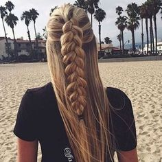 braid + long hair