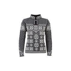 (ダールオブノルウェイ) Dale of Norway レディース トップス セーター Peace Sweater 並行輸入品  新品【取り寄せ商品のため、お届けまでに2週間前後かかります。】 カラー:Black/Off White カラー:ブラック