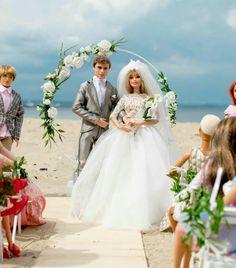 Barbie Life, Barbie And Ken, Juste Zoe, Wedding Attire, Wedding Dresses, Barbie Wedding, Beautiful Barbie Dolls, Barbie Fashionista, Barbie Dress