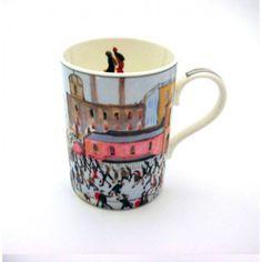 LS Lowry China Mug: Going To Work