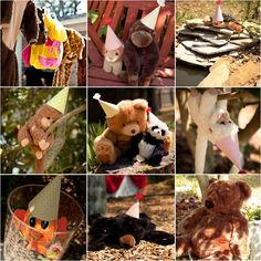 Zoo Birthday! Turn your backyard into a magical menagerie with your own stuffed animals. Serve animal cracker snacks and put out signs saying its ok to feed the animals.