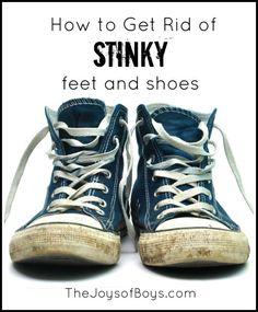 Get rid of stinky feet