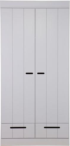 Connect 2-deurs + lade grijs - Woood Design, Design Comics