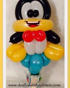 Balloon Penguin Candy Cup. #BurlON #burlont #HamiltonON #balloonart #balloons #penguin #oakville #balloonanimals #birthday #birthdayboy #birthdaygirl