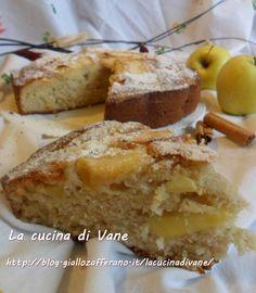 la torta di mele alla cannella, la classica torta di mele aromatizzata e profumata alla cannella, ricetta senza burro, ricetta dolce facile da fare
