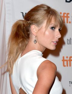 Taylor Swift's 2-Minute Ponytail Upgrade