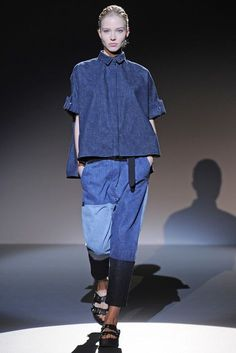Denim Trend for Spring 2015: The Wide Crop