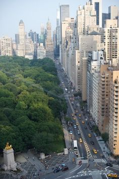 central park - I'd take one of those apartments. step one: find sugar daddy.
