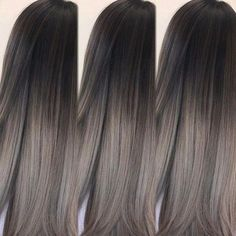 Aschbraun ist der neue Haarfarben-Trend 2018 Ash Brown is the new hair color trend 2018 Light Ash Brown Hair, Ash Brown Hair Color, Cool Hair Color, Ash Brown Ombre, Medium Ash Brown Hair, Grey Ash Brown Hair, Nice Hair Colors, Black Colored Hair, Hair Colors For Summer