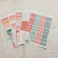 @paperlovingmommy ❤️ #etsyhaul #plannerlove #plannernerd #planneraddict #stickers