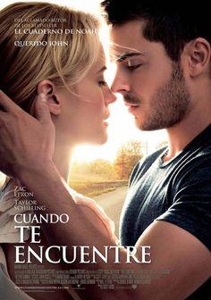 """cartel de la película """"Cuando te encuentre"""""""