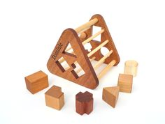 Items similar to Personalized Shape Sorter Toy - Montessori Inspired Wooden Toy for a Baby or Toddler - Eco-Friendly Sorting Game - Organic Wood Keepsake Toy on Etsy Sorting Games, Wood Toys, Montessori, Eco Friendly, Organic, Shapes, Inspired, Baby, Inspiration