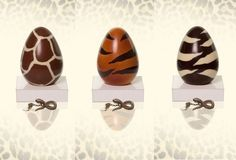 Roberto Cavalli Luxury Easter Eggs At Caffe Giacosa